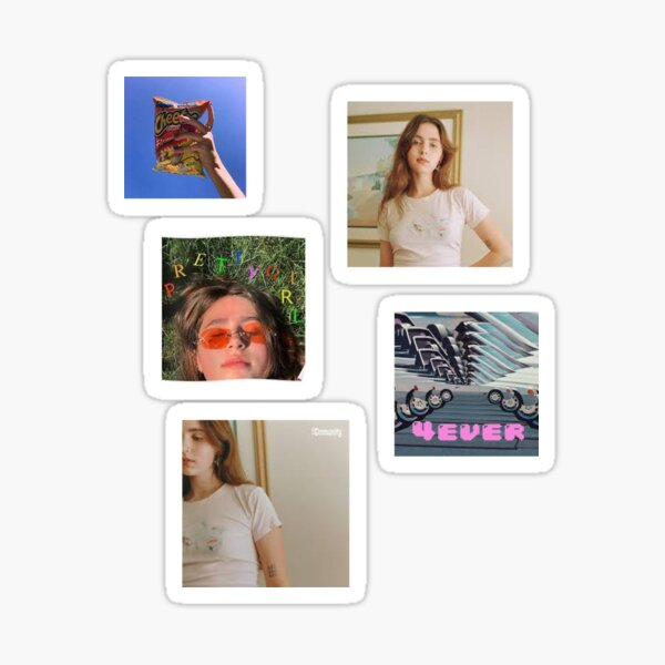 Clairo Album Cover Set Pegatina