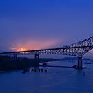 Bridge of the Americas by Justin Baer