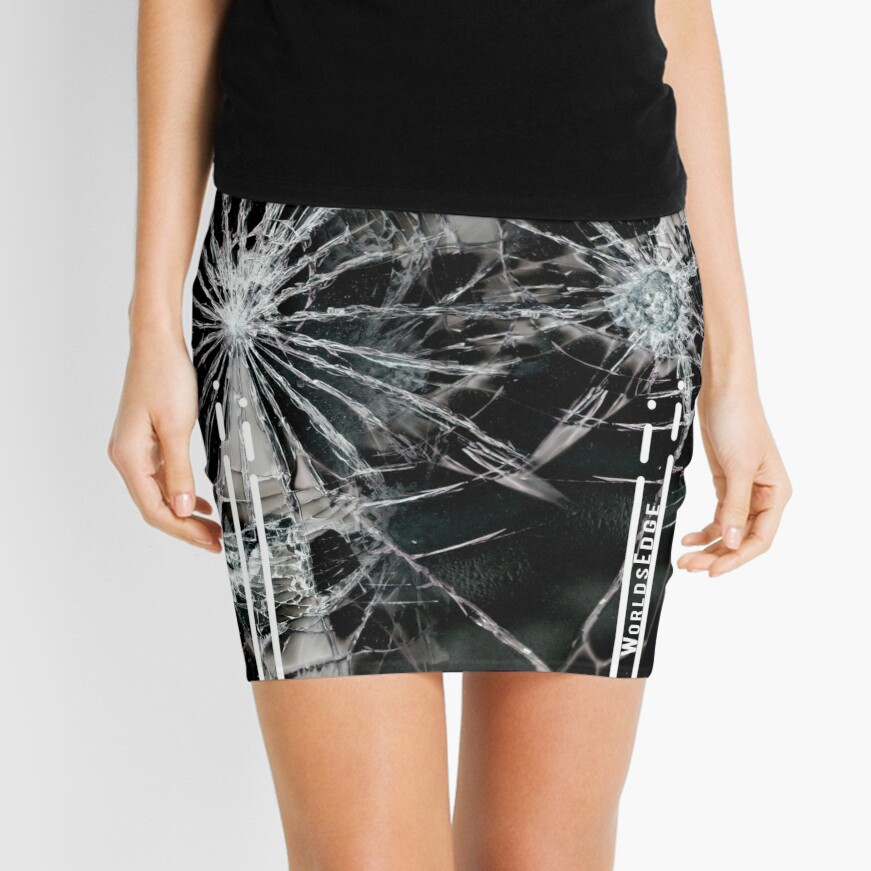 A Touch of Glass Mini Skirt