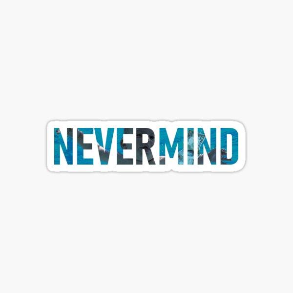Nevermind - Nirvana Sticker