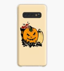 Halloween Gift and Decor - Scary Pumpkin Harvest - All Hallows Eve Present Case/Skin for Samsung Galaxy