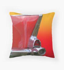 Retro Of Car Tail Lamp Throw Pillow