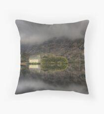 Morning Mist, Gougane Barra Throw Pillow