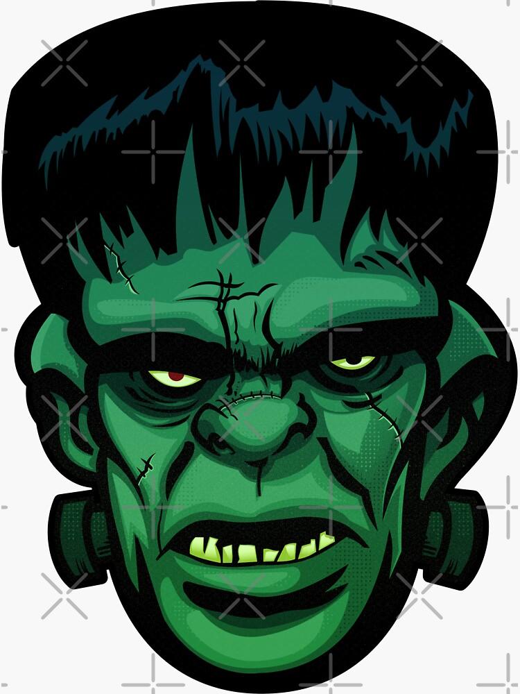 Retro Comic Book Frankenstein's Monster by wardellb