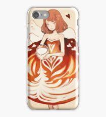 a caffè latte dress. iPhone Case/Skin