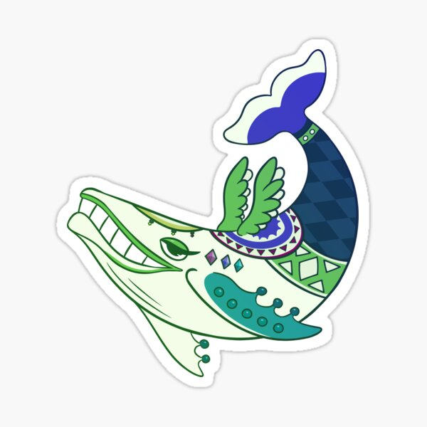 Wind Fish Sticker