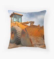 Construction Equipment Throw Pillow