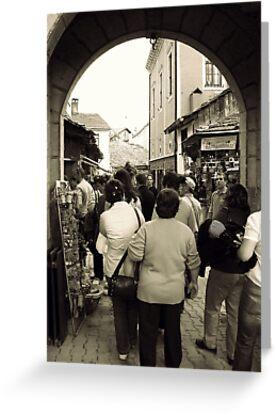 An archway in Safranbolu by rasim1