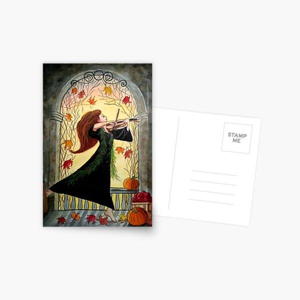Summoning Sabbat Spirits Postcard