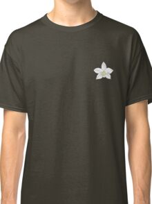 White Orchid Flower Classic T-Shirt
