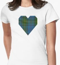 00321 Donegal County Tartan Women's Fitted T-Shirt