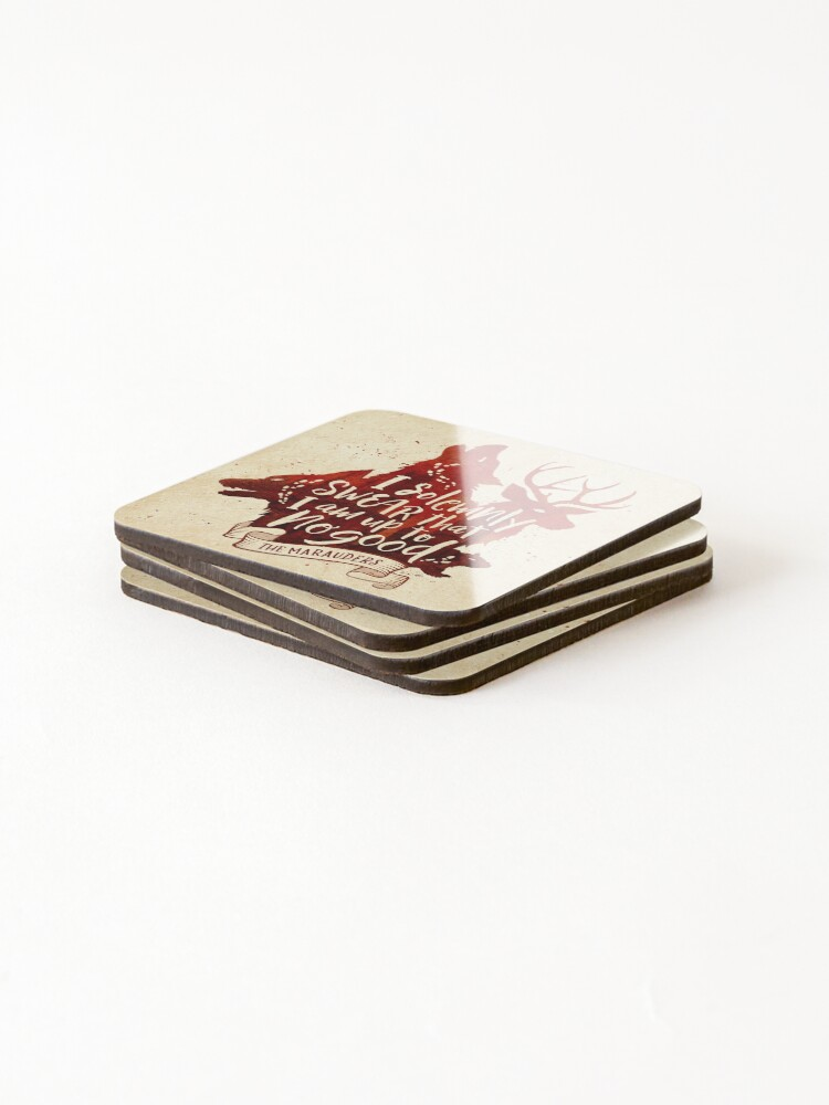 Alternate view of Solemnly Coasters (Set of 4)