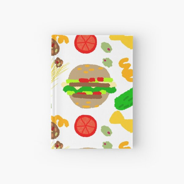 Burgers and macaroni Hardcover Journal