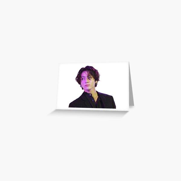 Long Hair JK Greeting Card