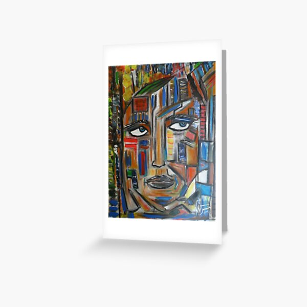 reflejo ,,,reflection Greeting Card