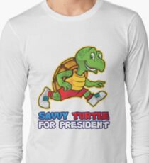 Savvy Turtle For President Limited Edition Long Sleeve T-Shirt