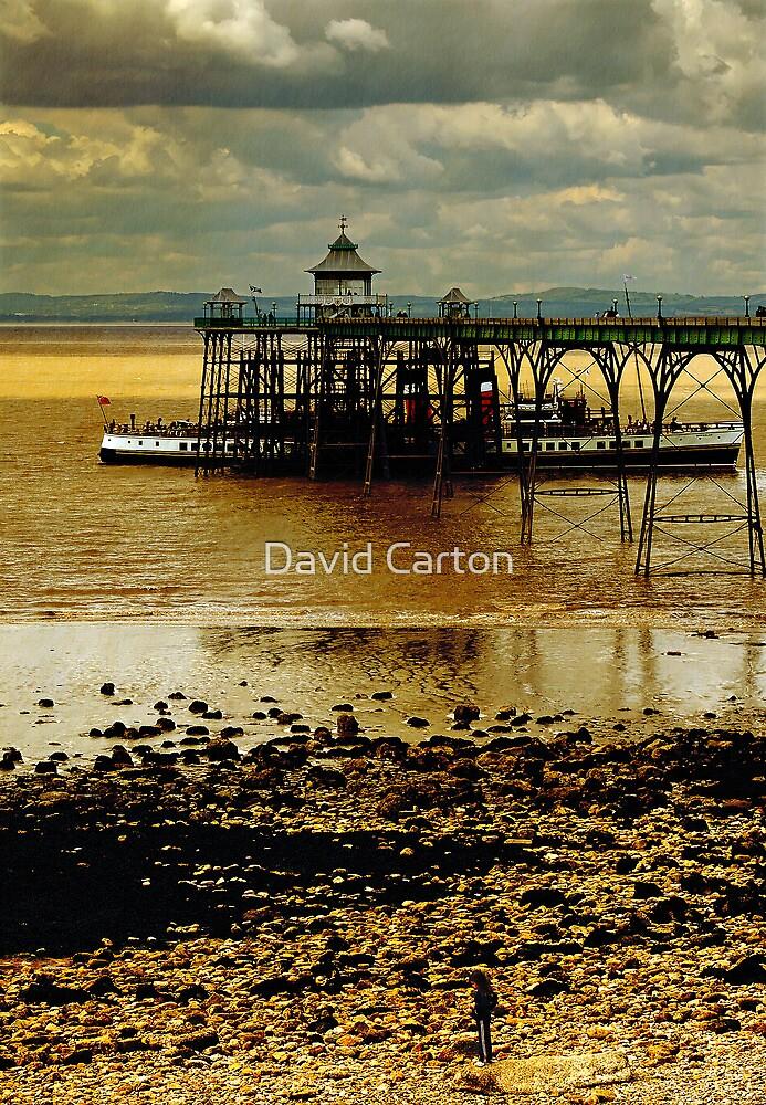 The Waverley at Clevedon Pier, Somerset, UK by David Carton
