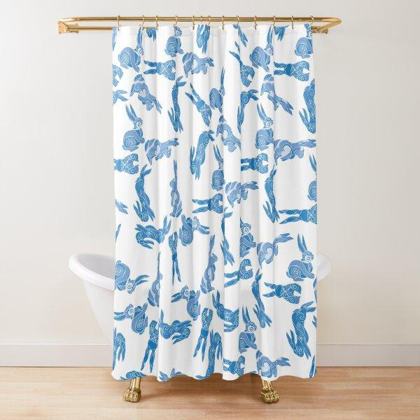 I Love You A Binky Bump Bunnies  Shower Curtain
