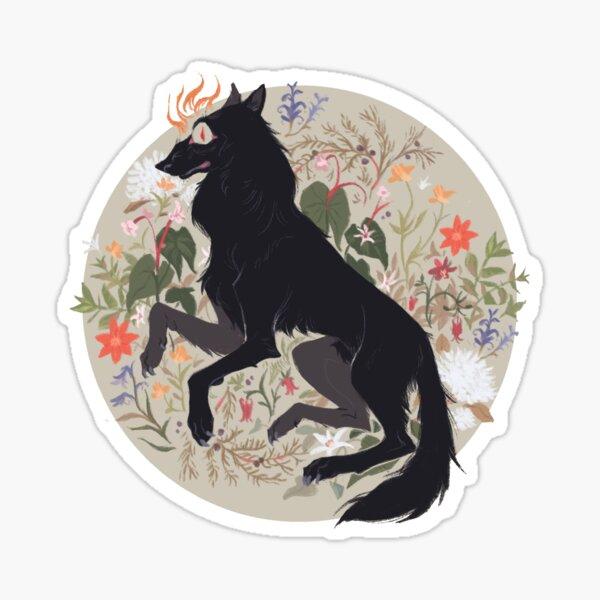 Canine Cryptids: Black Shuck Sticker