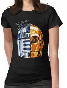 DAFT DROID Womens Fitted T-Shirt
