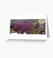 Abstract Fractal render Greeting Card