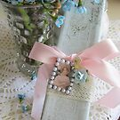 Spring Flowers and Gift Box by LeisureLane1