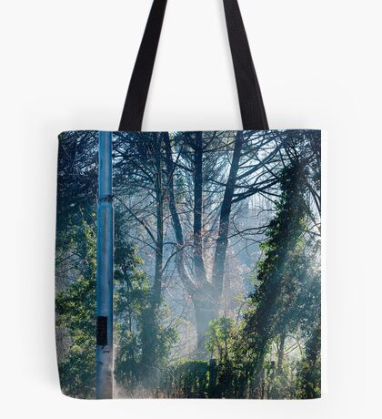 Morning at the Station take one Tote Bag