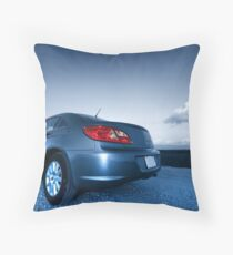 Sports Car Throw Pillow
