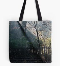 Morning at the Station take two Tote Bag