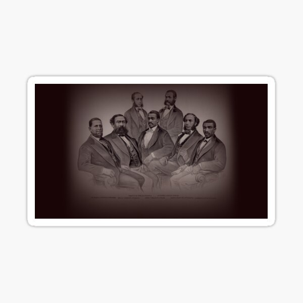 The First Blacks to Serve in the US Congress Sticker