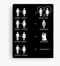 MARRIAGE EQUALITY Canvas Print