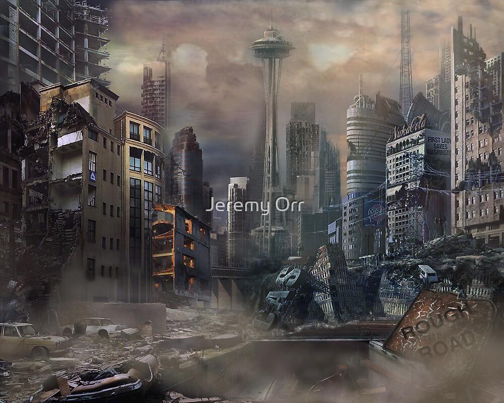 Post-Apocalypse Landscape by Jeremy Orr