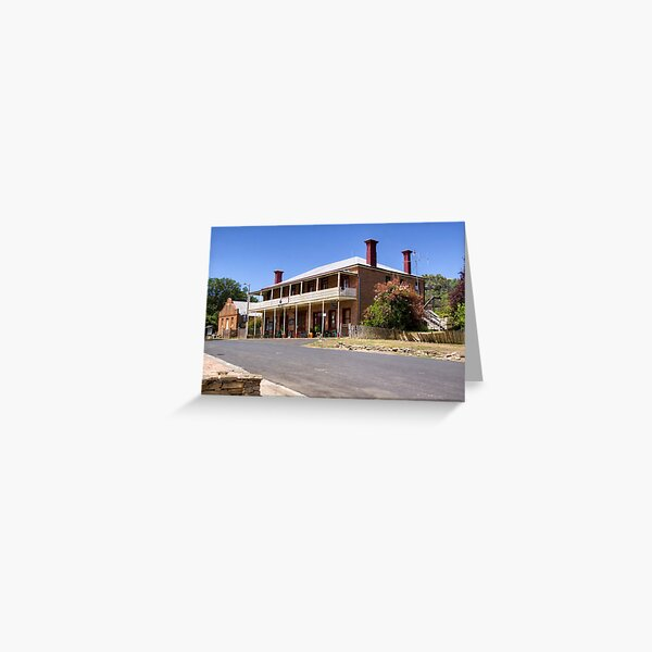 The Royal Hotel, Hill End, NSW Greeting Card