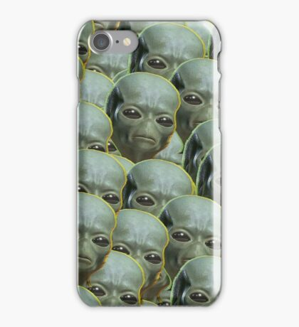 ayy lmao pattern iPhone Case/Skin