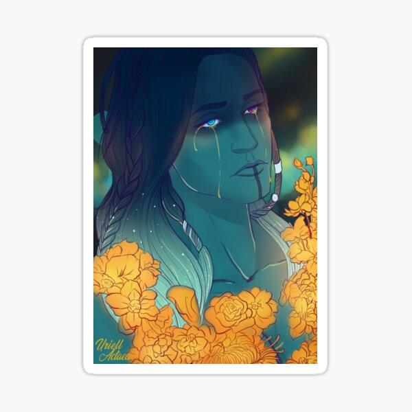 Yasha - flowers of hope Sticker