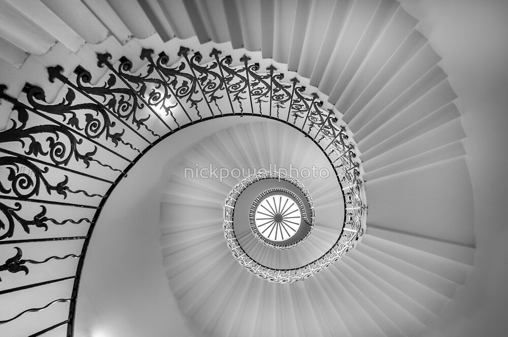 Tulip Stairs - Royal Naval College by nickpowellphoto