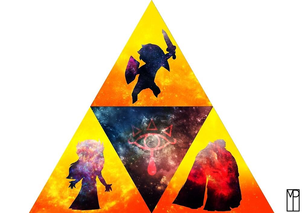 Triforce Warriors  by mattiepattie