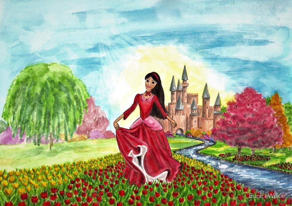 Princess Precious at Shining Palace - Coasters & Blocks by EuniceWilkie