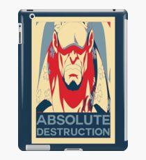 "Akainu ""Absolute Destruction"" Design iPad Case/Skin"