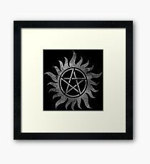 Supernatural Anti-Possession Ghost Print Framed Print