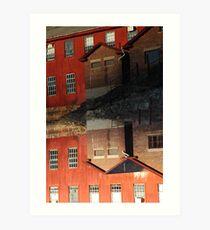 Collinsville Axe Factory Art Print