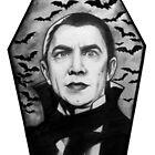 Bela Lugosi as Dracula by rachelshade