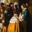 Adoration of the Magi - Murillo by Starzology
