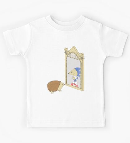 Hedgehog sees Sonic in Mirror of Erised (Harry Potter) Kids Clothes
