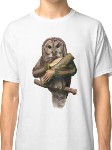 The owls are not what they seem Classic T-Shirt