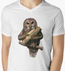 The owls are not what they seem Men's V-Neck T-Shirt