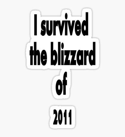 I did survive!!! Sticker