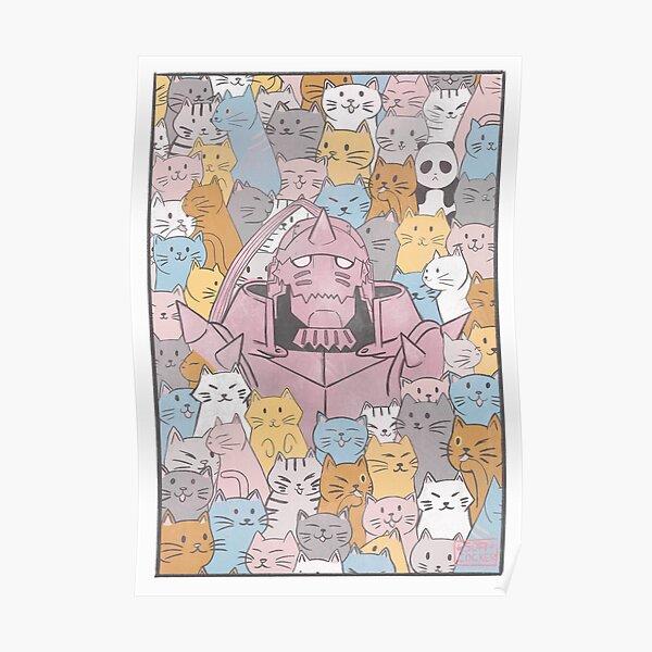 Alphonse Cats Poster