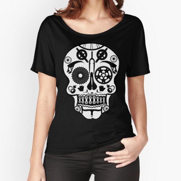 Symmetry skull Relaxed Fit T-Shirt