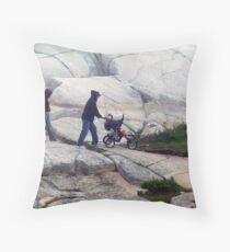 Rock and Roll,Baby Throw Pillow